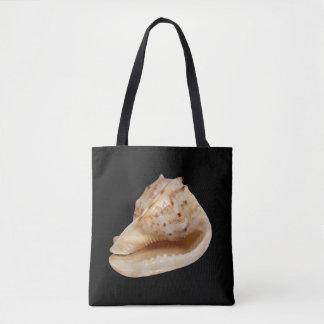 Kroonslak Shell helemaal over het Canvas tas van