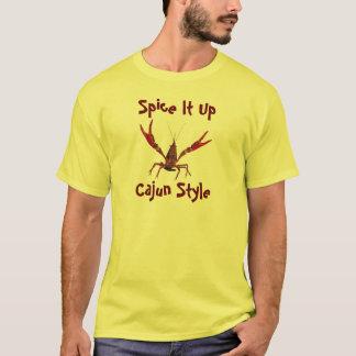 Kruid het omhoog Stijl Cajun T Shirt