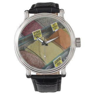 Kruiden voor Verkoop in Istanboel Turkije Horloges