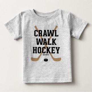 Kruip Baby van het Baby van het Hockey van de Gang Baby T Shirts
