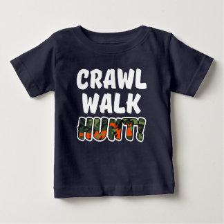 Kruip camo van het Baby van de Jacht van de Gang Baby T Shirts