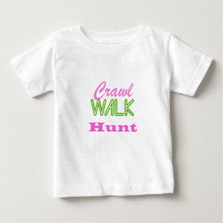 Kruip de Jacht van de Gang Baby T Shirts