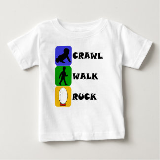 Kruip Gang Ruck Baby T Shirts