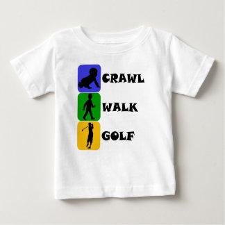 Kruip het Golf van de Gang Baby T Shirts
