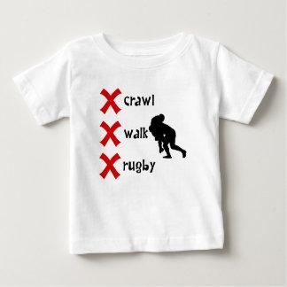 Kruip het Rugby van de Gang Baby T Shirts