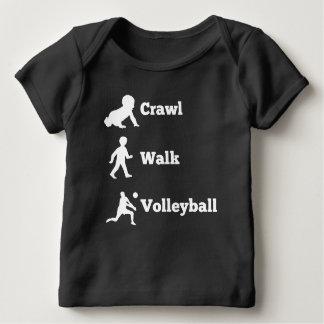Kruip het Volleyball van de Gang Baby T-shirt