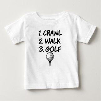 Kruip overhemd van de het babyjongen van het Golf Baby T Shirts