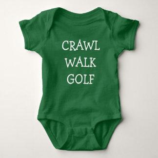 Kruip overhemd van de het babyjongen van het Golf Romper