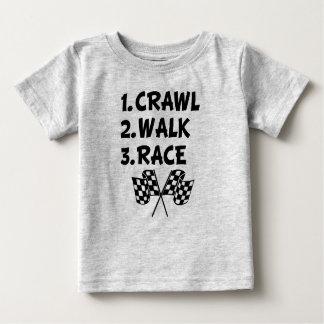 Kruip overhemd van de het babyjongen van het Ras Baby T Shirts