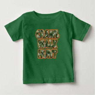 Kruip van de het babyjongen van de Jacht van de Baby T Shirts