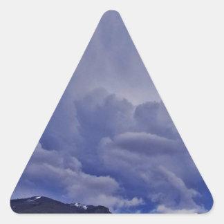 Kruipende Wolken 1 Sticker