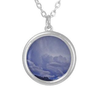 Kruipende Wolken 1 Zilver Vergulden Ketting