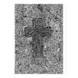 Kruis en Symbolen Briefkaart