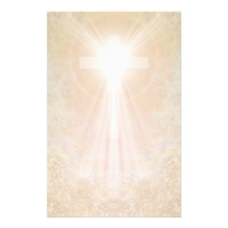 Kruis in Gouden Kantoorbehoeften Briefpapier