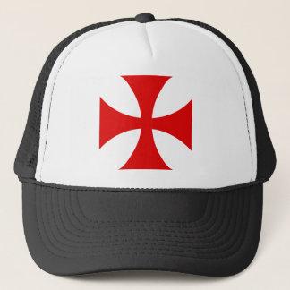 Kruis van de Ridders Templar Trucker Pet