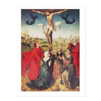 Kruisiging, c.1510 (olie op paneel) briefkaart