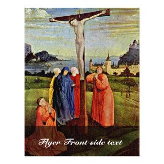 Kruisiging door Witz Konrad (Beste Kwaliteit) Gepersonaliseerde Folder