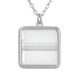 Kruisraket Zilver Vergulden Ketting