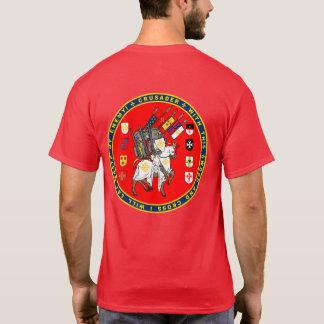 Kruisvaarders op het Overhemd van de Verbinding T Shirt