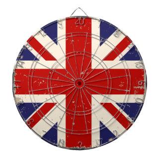 KRW verontrustte het Britse Dartboard van de Vlag Dartbord
