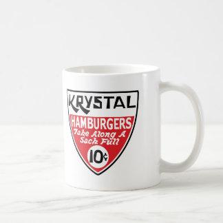 Krystal het Schild van 10 Cent Koffiemok