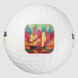 Kubiste Samenvatting van de Zeilen van de Troep en Golfballen