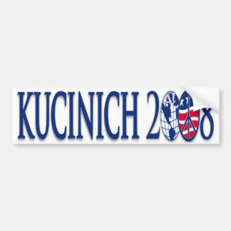 kucinich 2008 bumpersticker