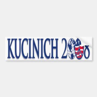 kucinich 2008 bumpersticker