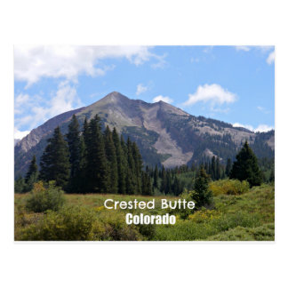 Kuif Butte, Colorado Briefkaart