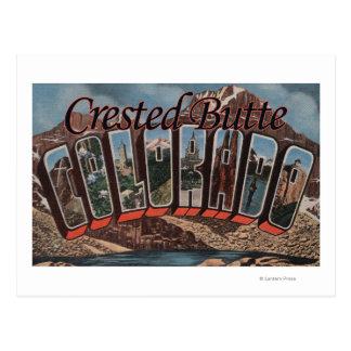 Kuif Butte, Colorado - de Grote Scènes van de Briefkaart
