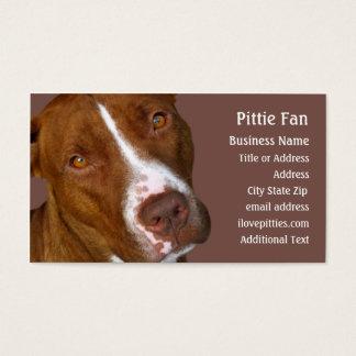 Kuil Bull terrier #2 - het Visitekaartje van de Visitekaartjes