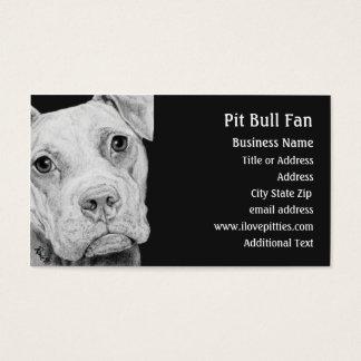 Kuil (Grijs) Bull terrier - Visitekaartje Visitekaartjes