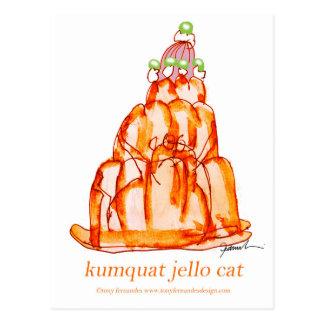 kumquat van tony fernandes jellokat briefkaart