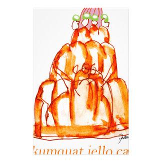 kumquat van tony fernandes jellokat briefpapier