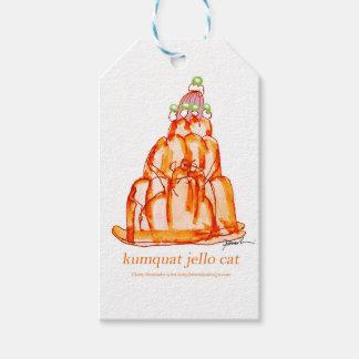 kumquat van tony fernandes jellokat cadeaulabel