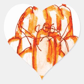 kumquat van tony fernandes jellokat hart sticker