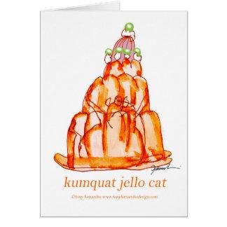 kumquat van tony fernandes jellokat kaart