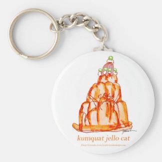 kumquat van tony fernandes jellokat sleutelhanger