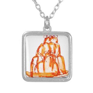 kumquat van tony fernandes jellokat zilver vergulden ketting