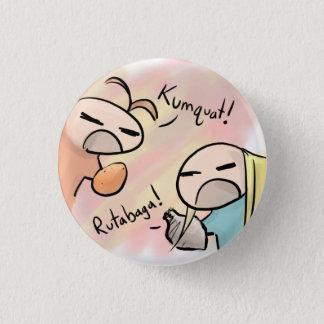 kumquat versus koolraap ronde button 3,2 cm