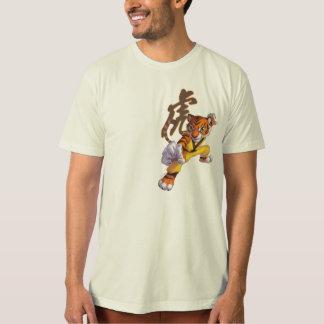 kungfu tijger t shirt