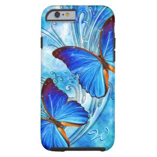 Kunst 37 van de vlinder Geval Tough iPhone 6 Hoesje