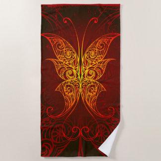 Kunst 7 van de vlinder de Handdoeken van het