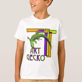 kunst gekko t shirt