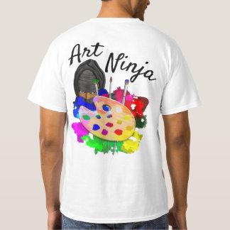 Kunst Ninja T Shirt