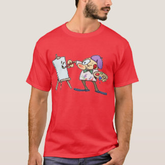 Kunstenaar T Shirt