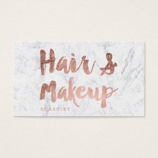 Kunstenaar van het haar en van de Make-up nam