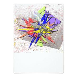 Kunstwerk 12,7x17,8 Uitnodiging Kaart
