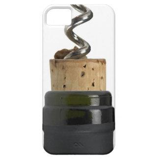 Kurketrekker en cork, op wit wordt gefotografeerd barely there iPhone 5 hoesje