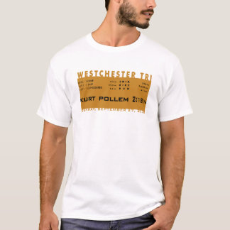 Kurt: Westchester Aangepaste Triathlon - T Shirt